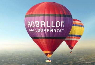 Afbeelding van Ballonvaren met Ad Ballon